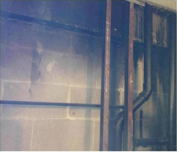 Commercial Fire Damage – South Daytona Before