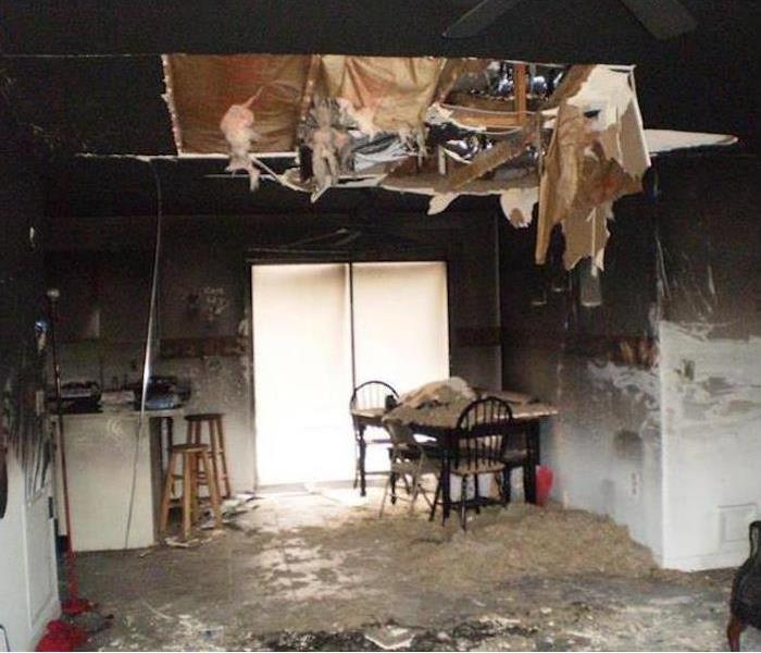 Fire Damage – South Daytona Home Before