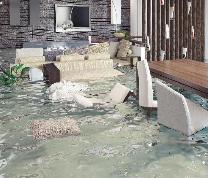 interior flooding in home